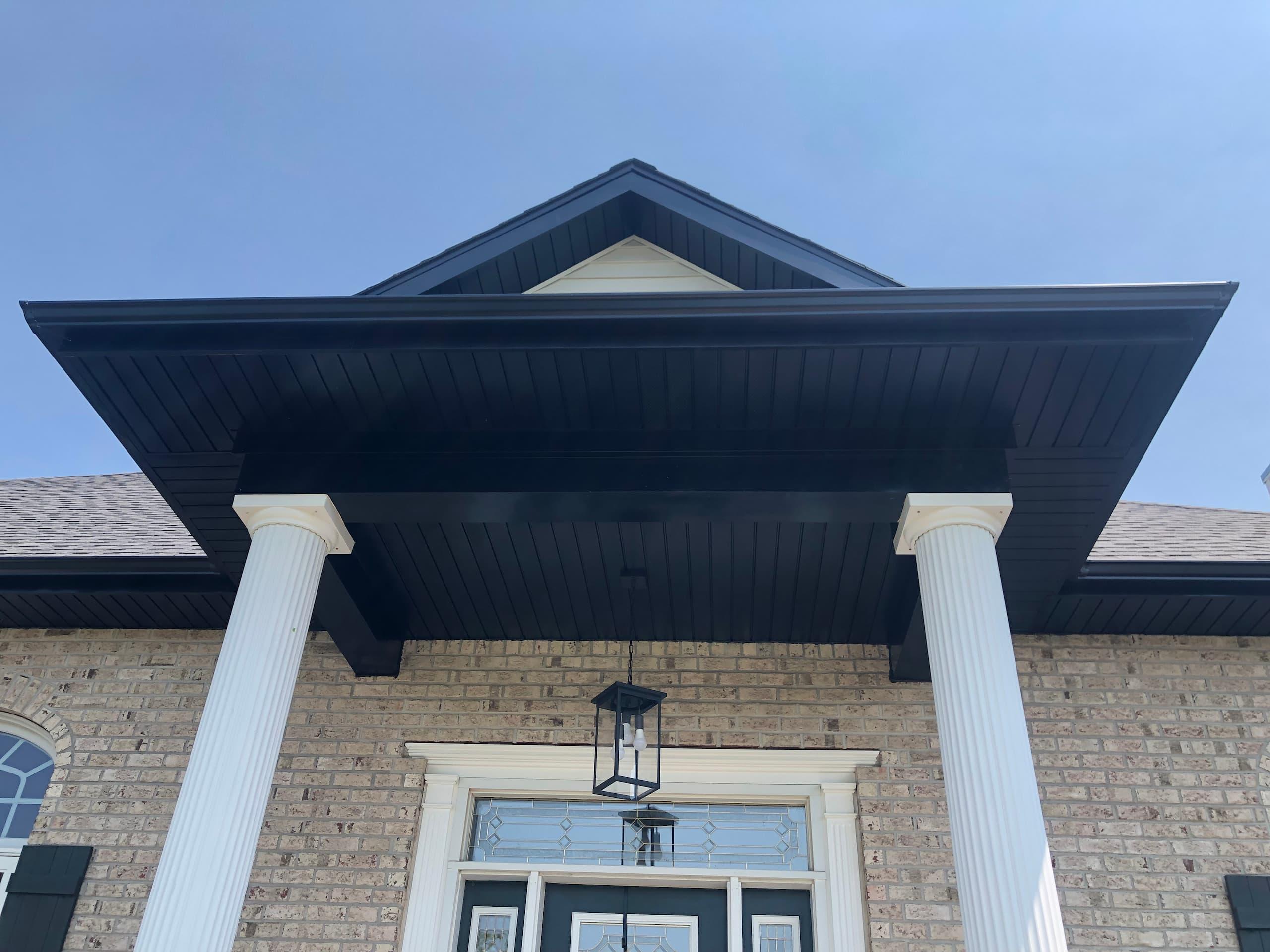 Wisconsin Roofing LLC | Plymouth | CertainTeed Landmark Pewter | Custom fabricated steel