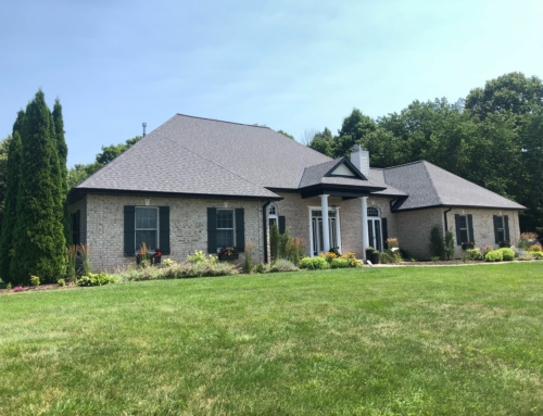 CertainTeed Landmark Pewter | New Roof, Gutters, Custom Fabricated Steel Facia and Soffit |  Plymouth WI