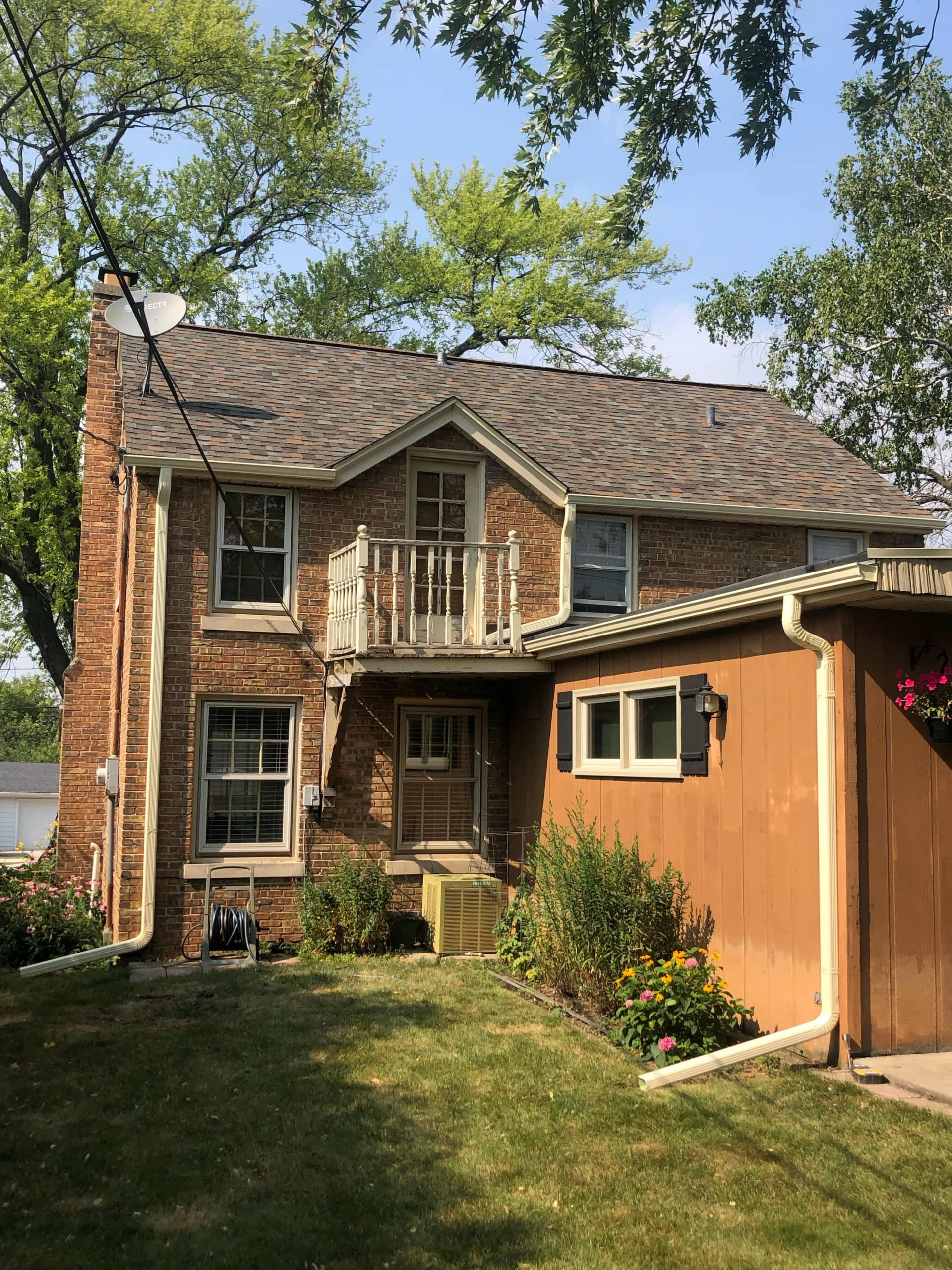 Wisconsin Roofing | Owens Corning Designer Shingles | Aged Copper | Backyard