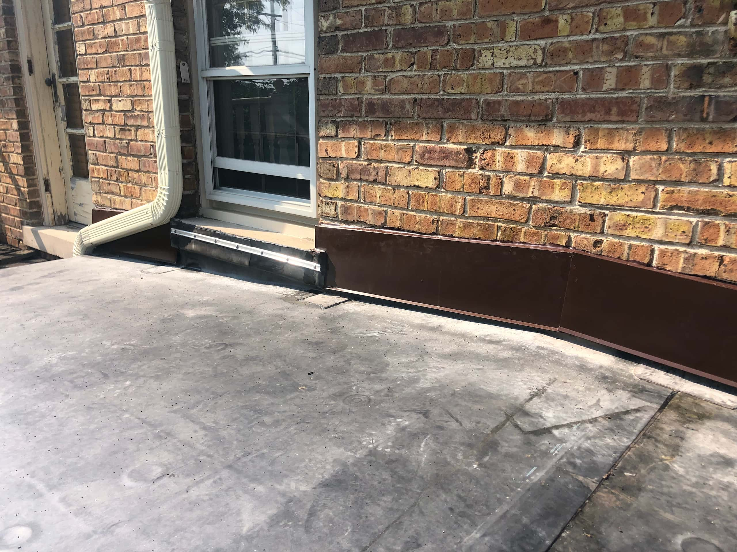 Wisconsin Roofing | Owens Corning Designer Shingles | Aged Copper | Flashings