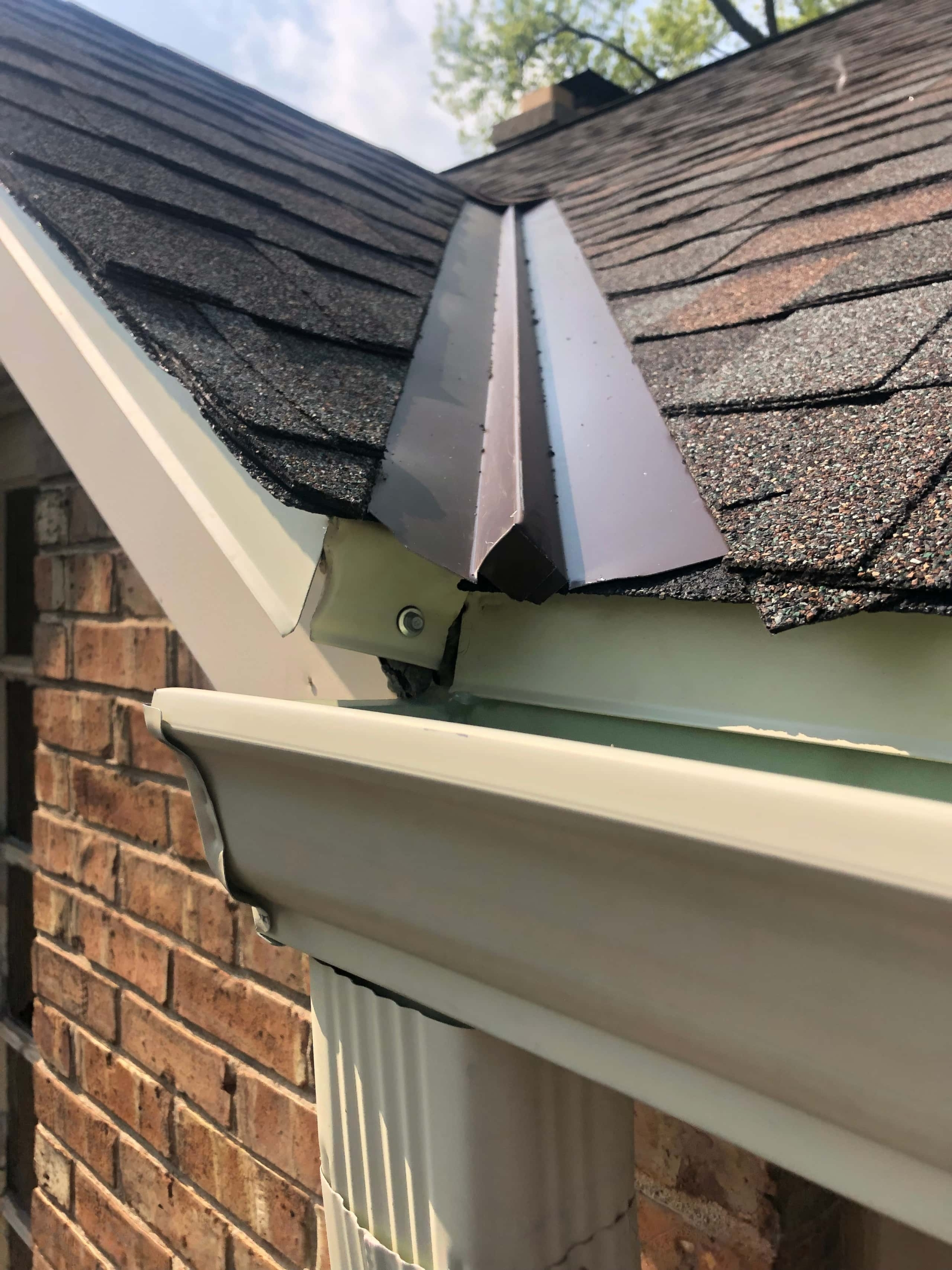 Wisconsin Roofing | Owens Corning Designer Shingles | Aged Copper | Gutters